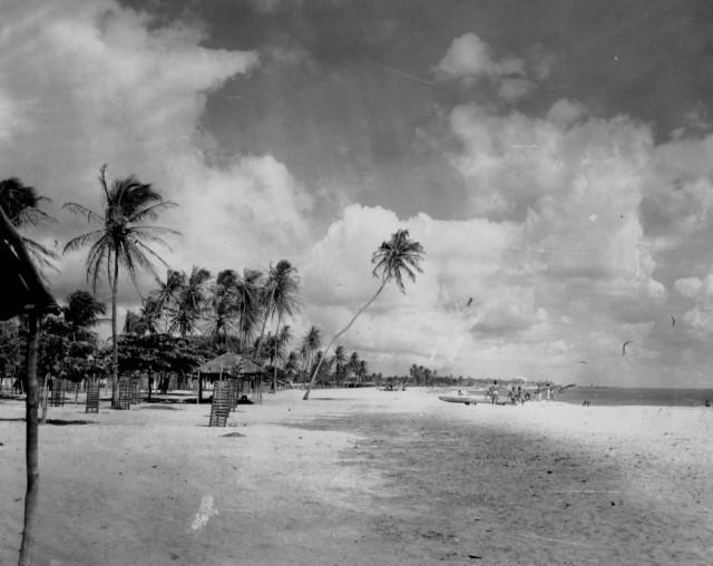 Praia Meireles antiga