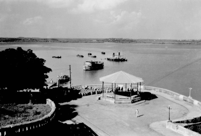 coreto na Beira-mar antigo
