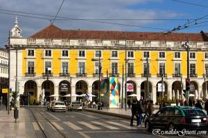 Praça Comércio Lisboa
