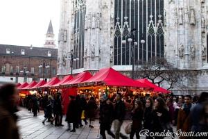 mercado de Natal Milão