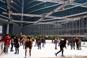 ringue de patinacao em Milão