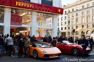 Loja Ferrari Milao