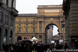 Piazza della Repubblica Florença