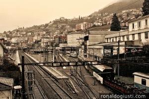 Montreux - estação de trens