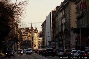 ruas de Genebra