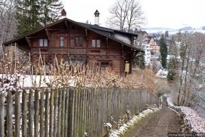Berna - caminho do Rosengarten