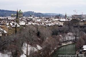 Berna vista do Rosengarten