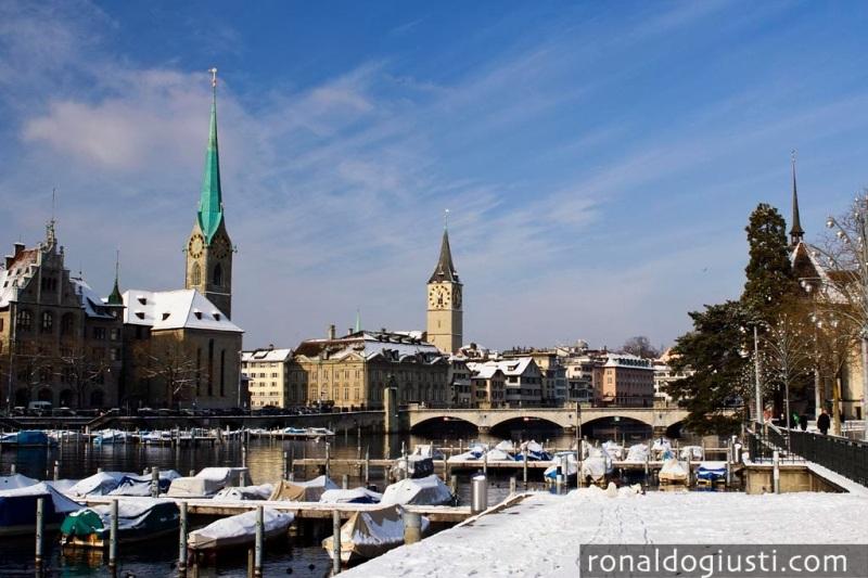 Zurique old town