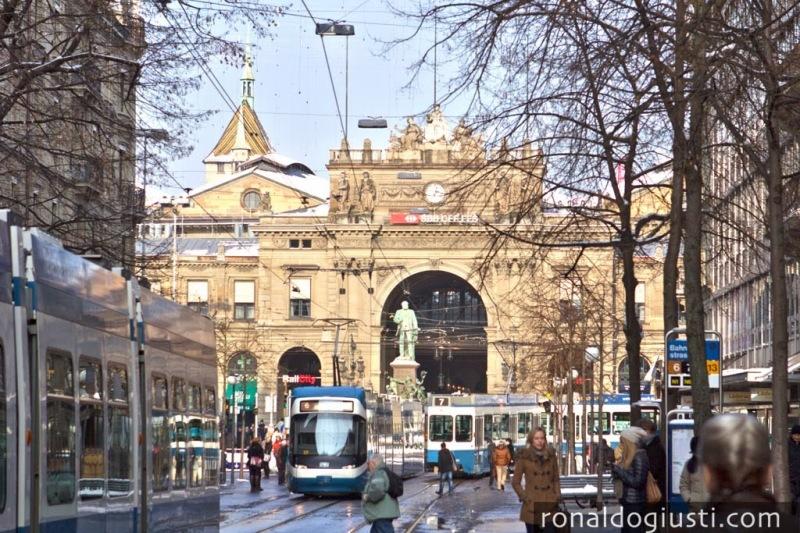 Zurique Bahnhofstrasse