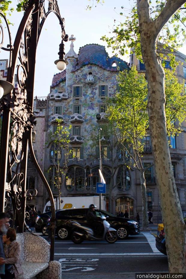 Casa Bartiló, no Passeig de Gracia