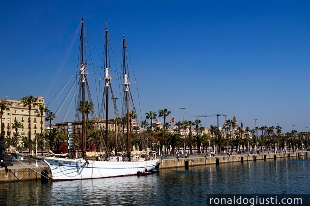 Rambla de Mar Barcelona